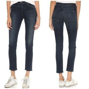 NWT Agolde Camile High Rise Slim Skinny Jeans